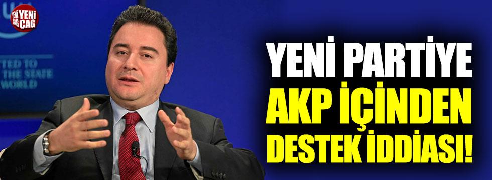 Yeni partiye AKP'den destek iddiası!