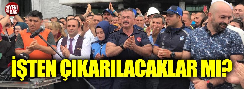 İmamoğlu'nu protesto eden İBB çalışanları işten çıkarılacak mı?