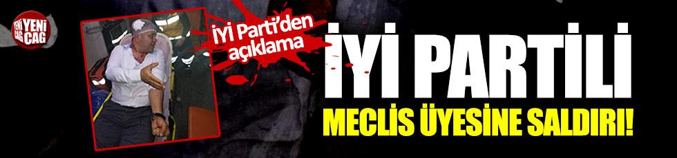 İYİ Partili belediye meclis üyesine saldırı