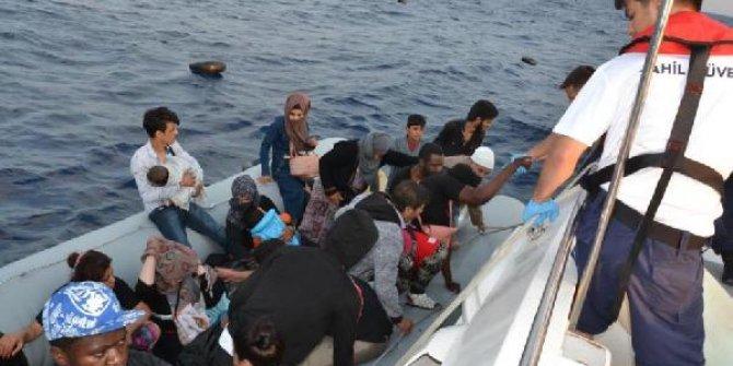 Kuşadası'nda 37 kaçak göçmen yakalandı