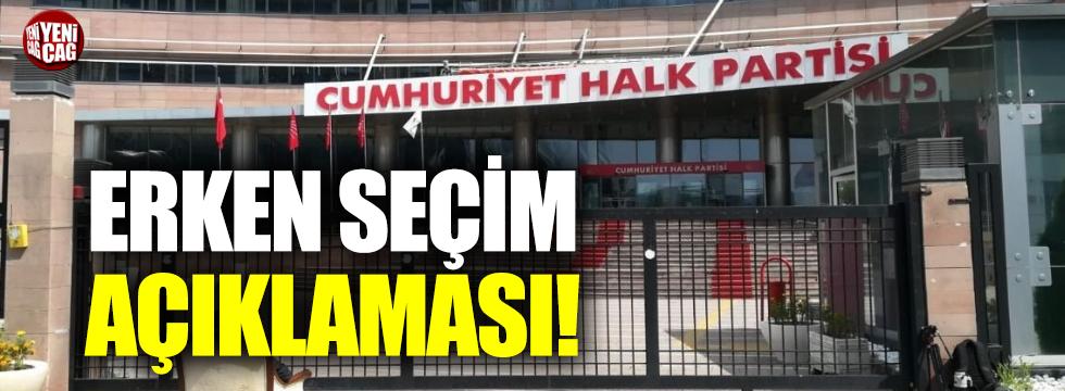 """CHP'li Torun: """"Erken seçim talebimiz yok"""""""