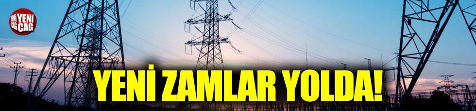 Elektrikte yeni zamlar yolda