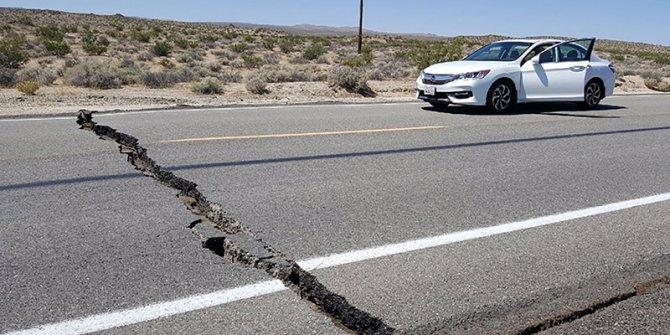 California'da deprem