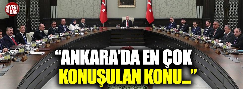 """Zeyrek: """"Ankara'da en çok konuşulan konu..."""""""