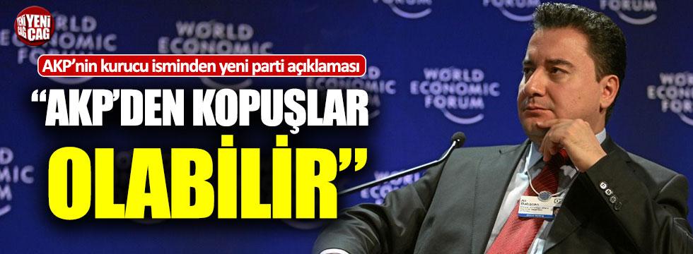 """Abdüllatif Şener: """"Yeni parti için AKP'den kopuşlar olabilir"""""""