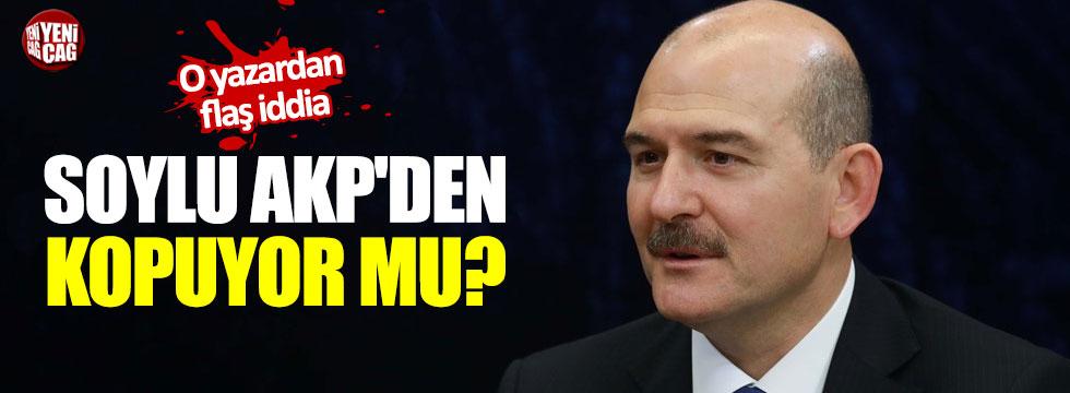 Süleyman Soylu AKP'den kopuyor mu?
