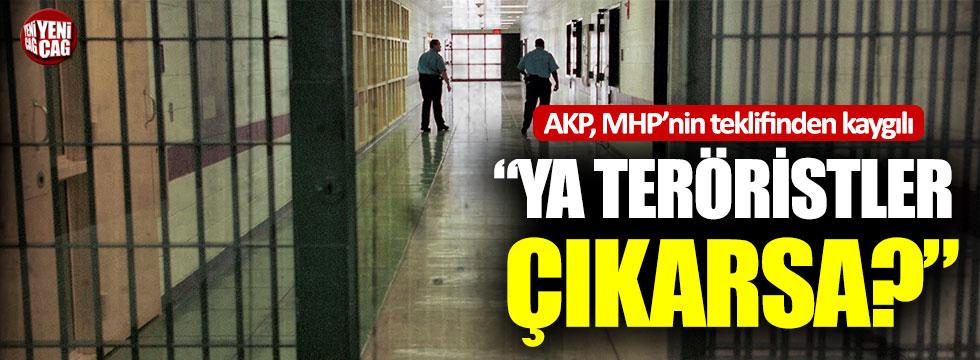AKP, MHP'nin af teklifinden kaygılı!