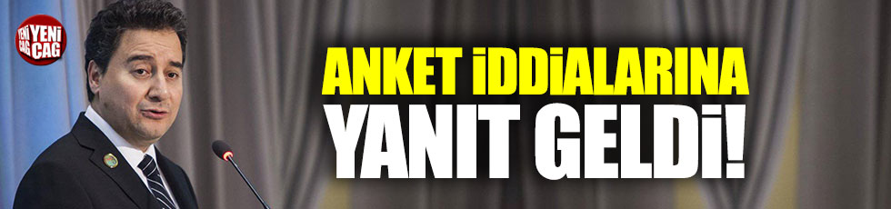 MAK Danışmanlık'tan Davutoğlu ve Babacan iddialarına açıklama