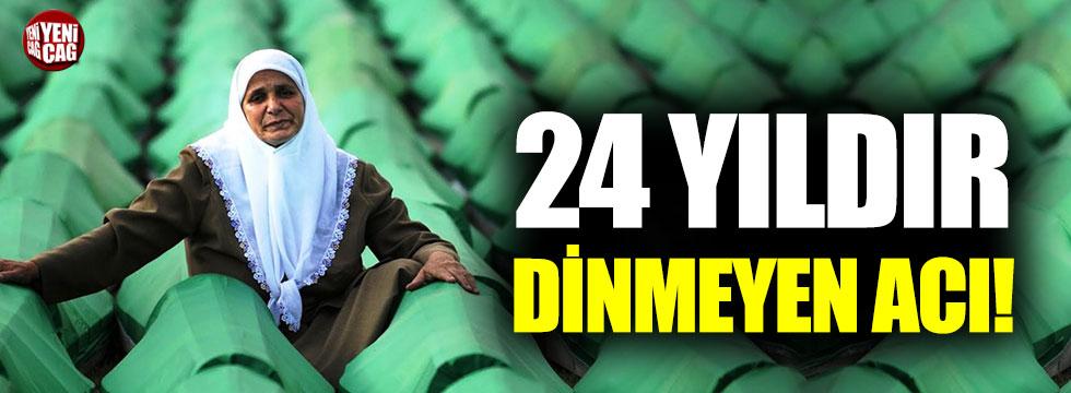 Srebrenitsa Soykırımı'nın üzerinden 24 yıl geçti
