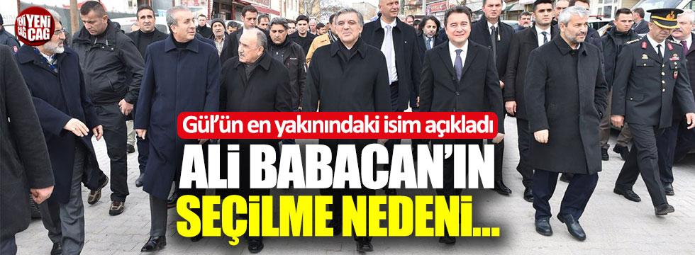 Latif Cem Baran Ali Babacan'ın neden seçildiğini anlattı!