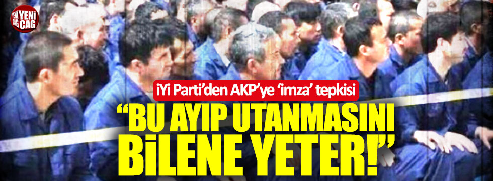 İYİ Parti'den AKP'ye 'Doğu Türkistan' tepkisi!