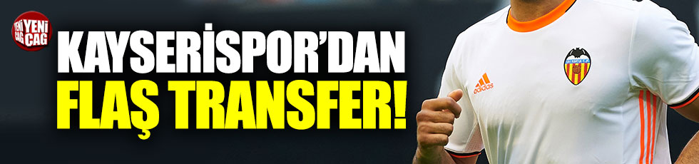 Kayserispor Valencia'dan Aymen Abdennour'u transfer etti