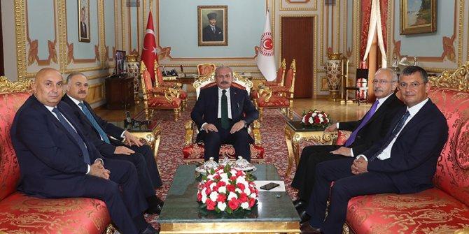 Kılıçdaroğlu'ndan, Meclis Başkanı Şentop'a ziyaret