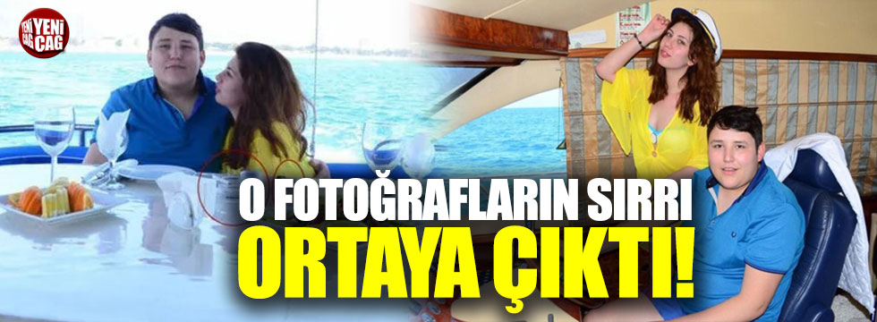 Antalya polisi Tosuncuğun yat fotoğraflarının sırrını çözdü!