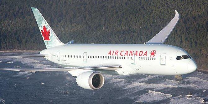 Yolcu uçağı türbülansa girdi