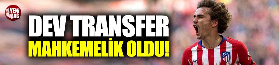 Griezmann transferi mahkemelik oldu
