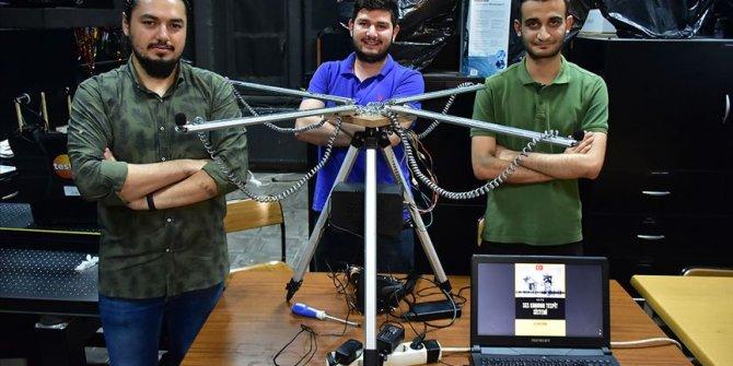 Gaziantep'te üniversitelilerden 'Ses Konumu Tespit Sistemi'