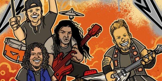 Metallica'dan çocuk kitabı!