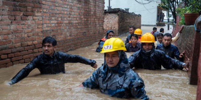 Nepal'de muson yağışlarında 65 kişi hayatını kaybetti
