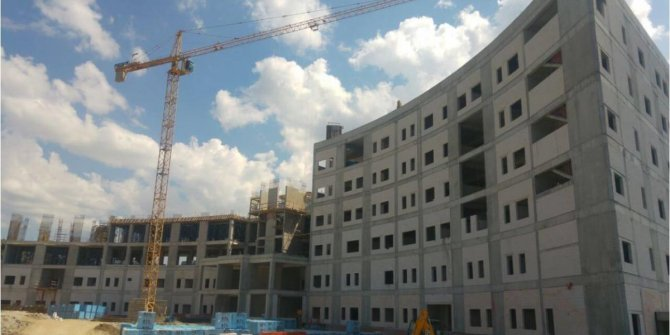 Ekonomik kriz hastane inşaatını vurdu