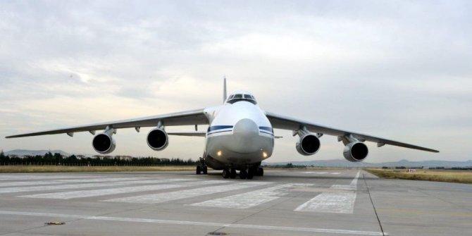 S-400 sevkiyatında 10. uçak Mürted'e indi