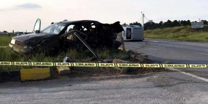 Eskişehir'de korkunç kaza!