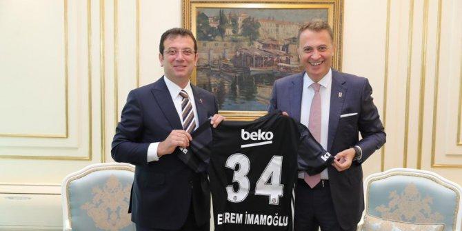 Beşiktaş yönetiminden İmamoğlu'na tebrik ziyareti