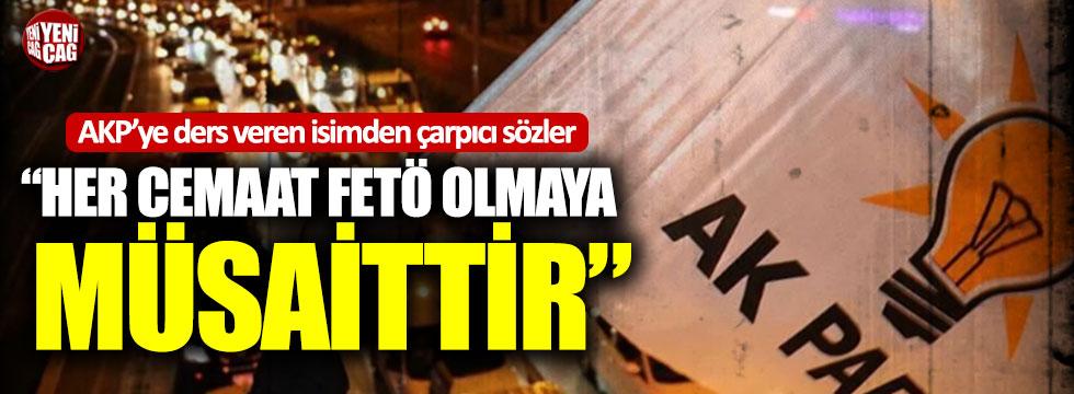 """AKP'ye eğitim veren ilahiyatçı: """"Her cemaat FETÖ olmaya müsaittir"""""""