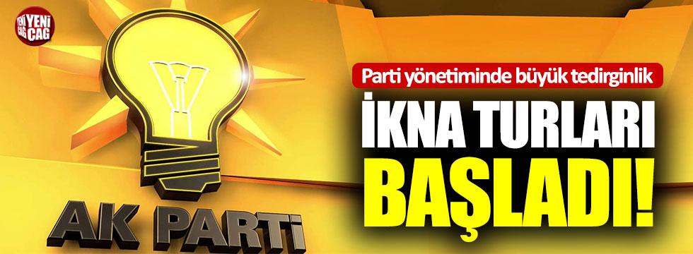 AKP'de büyük tedirginlik: İkna turları başladı