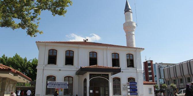 Ecdat yadigarı camide restorasyon başladı