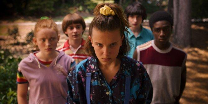 Stranger Things dizisi rekor kırdı
