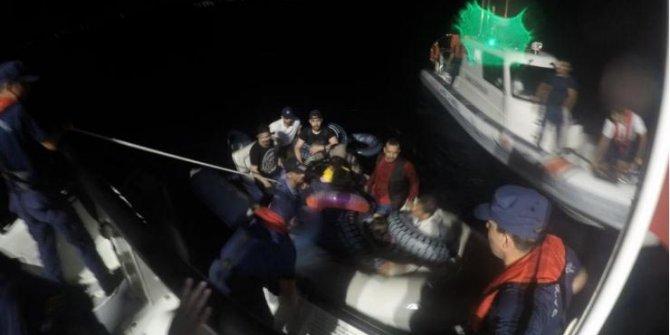 Bodrum açıklarında 10 kaçak göçmen yakalandı