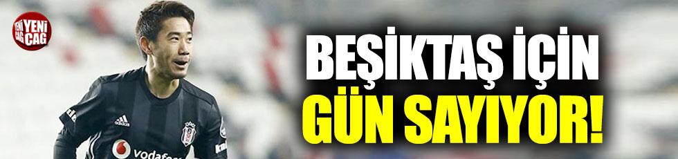 Kagawa Beşiktaş için gün sayıyor