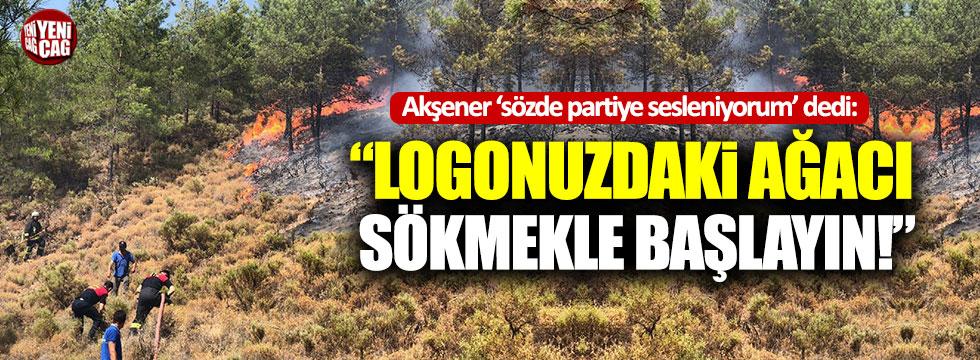 """Akşener'den HDP'ye: """"Logonuzdaki ağacı sökün!"""""""