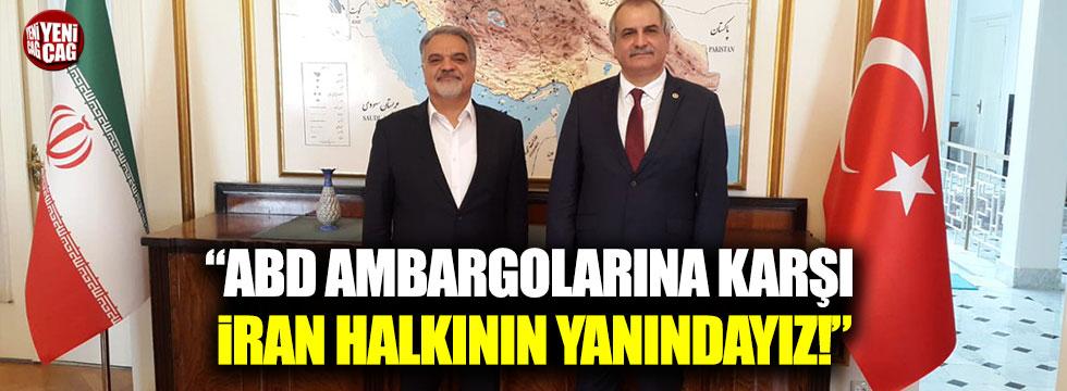 """Ahmet Çelik: """"ABD ambargolarına karşı İran halkının yanındayız"""""""