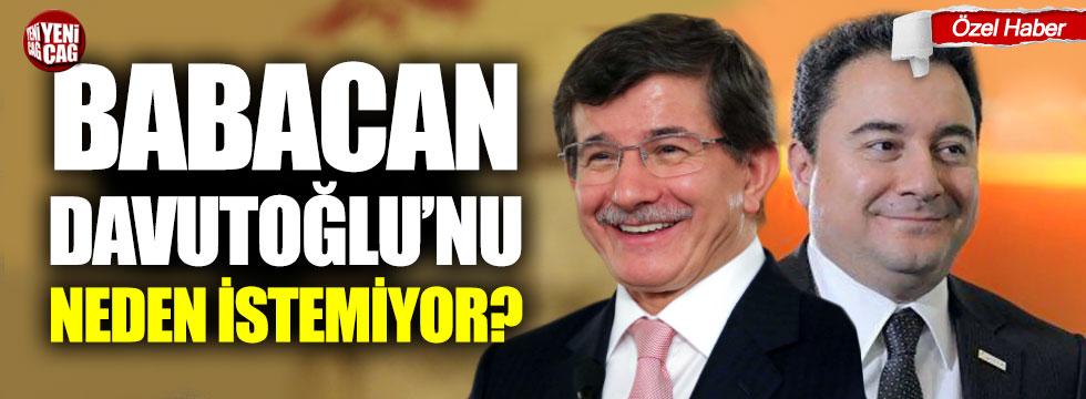 Ali Babacan, Davutoğlu'nu neden istemiyor?