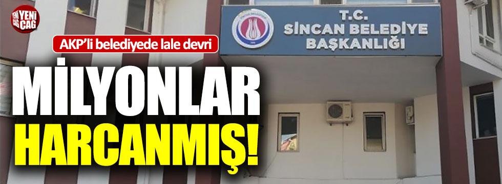 AKP'li belediyede laleler için milyonlar harcanmış