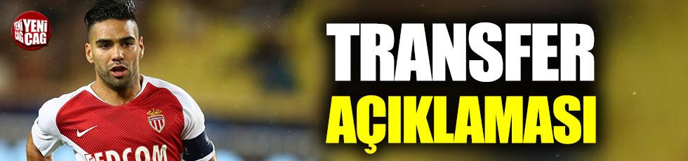 Falcao'dan transfer açıklaması