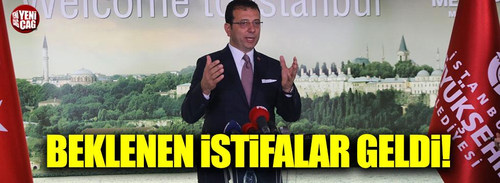 """Ekrem İmamoğlu açıkladı: """"İstifa ettiler!"""""""
