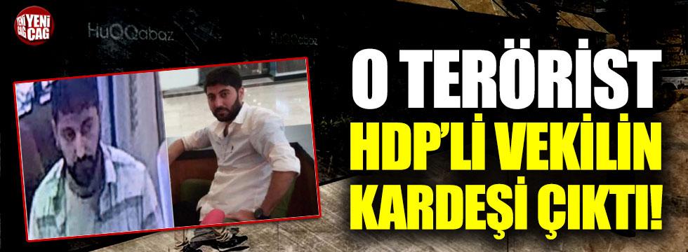 Erbil'deki saldırının faili HDP'li vekilin kardeşi çıktı