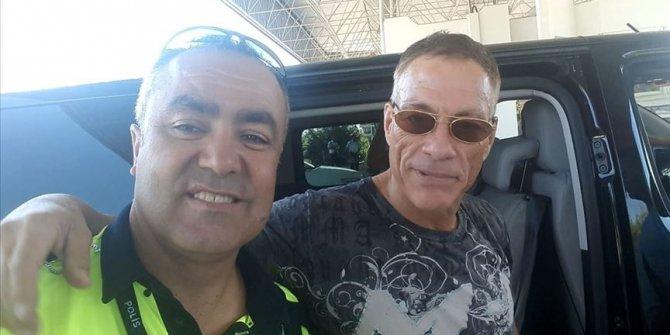 Jean Claude Van Damme Bodrum'a geldi