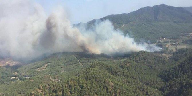 Datça'daki yangına 1 milyon tazminat