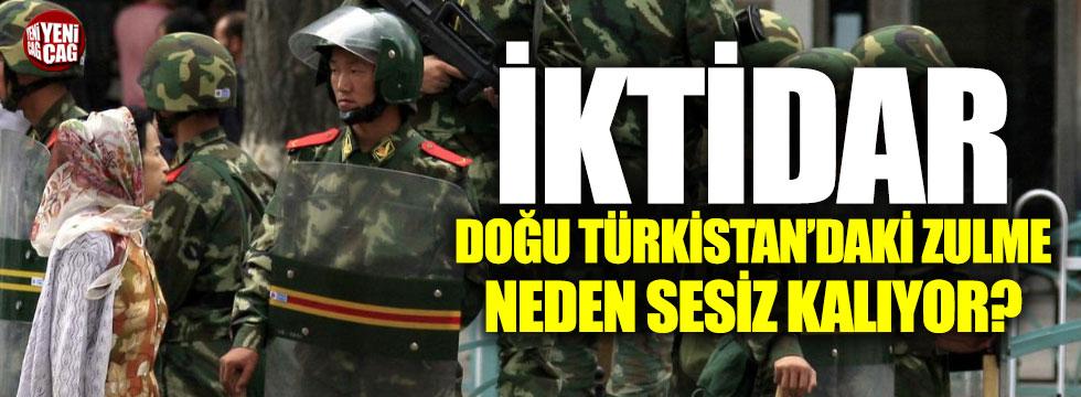 """Türkkan'dan AKP'ye """"Doğu Türkistan"""" tepkisi"""