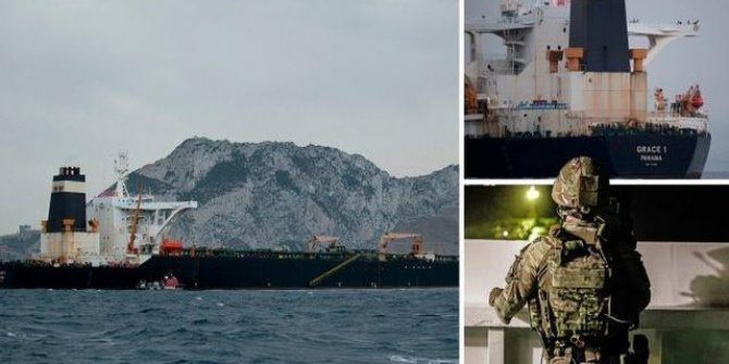 İran, İngiltere'nin tankerine el koydu