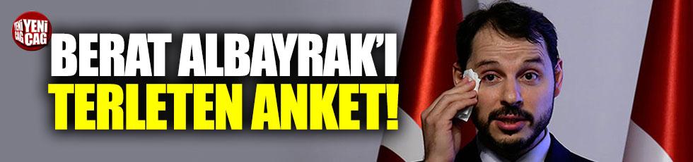 Vatandaşın yüzde 90'ı Berat Albayrak'tan şikayetçi