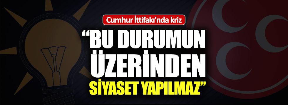 Cumhur İttifakı'nda karpuz krizi!