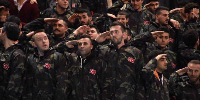 """""""Reis bizi Afirin'e götür"""" diyen AKP'li başkan askerliğini bedelli yaptı"""