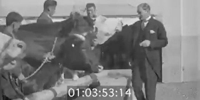 Atatürk'ün o görüntüleri tekrar gündem oldu