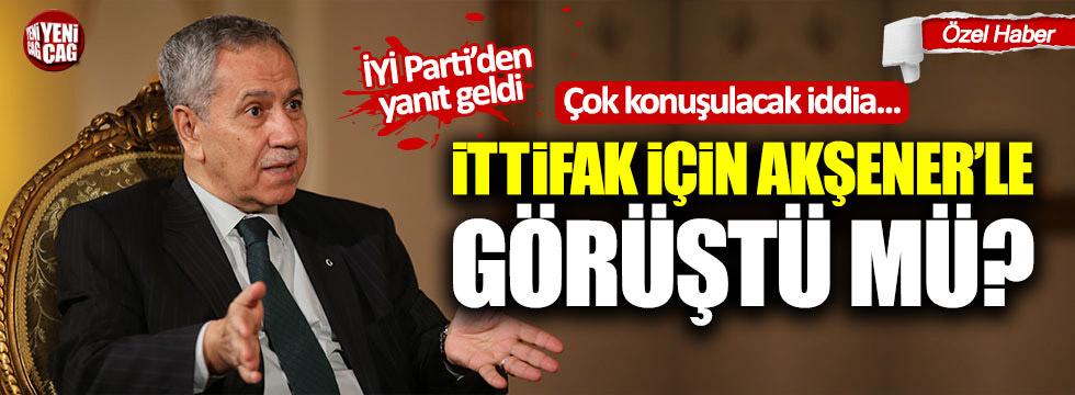 İYİ Parti'den Arınç'ın Akşener'le görüştüğü iddialarına yanıt geldi