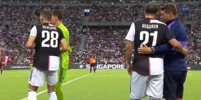 Merih Demiral ilk kez Juventus forması giydi